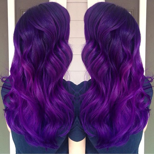 manic panic violet night amplified hair colour royal