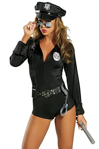 Roma Costume Women's My Way Patrol Sexy Patrol Cop Costum...