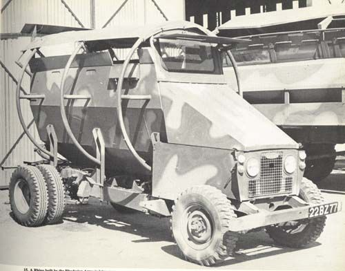 Rhino used by Police in Rhodesia (now Zimbabwe).