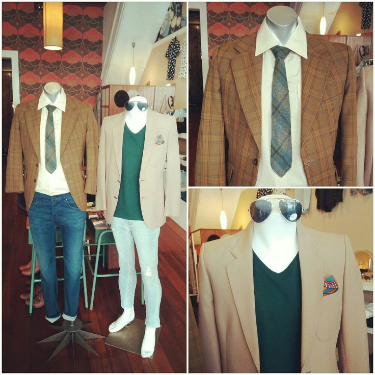 Suave with a casual retro twist. Vintage suit jackets, Vintage shirt, vintage tie and pocket square, Wrangler jeans and bottle green tea #suave #casual #Cool #casualcool #casualfriday #retro #retrotie #retrofeels #Vintage #vintagemens #vintagesuitjacket #Wrangler #newandold #vintagestyle #vintageshirt #bottlegreen #tee