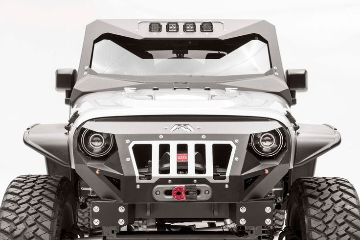 The ViCowl offers unique styling, added front windshield protection and the option for additional lighting. Make your Jeep JK stand out from the rest w/ the Fab Fours' ViCowl.   eBay!