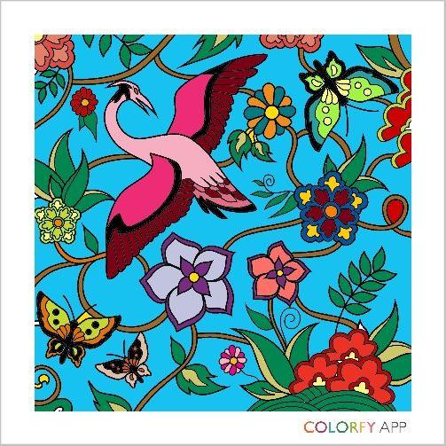#colorfy #gardens #birds