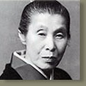"""In this Japanese name, the family name is """"Uemura"""".  Uemura Shōen (上村 松園?, April 23, 1875 - August 27, 1949) was the pseudonym of an important woman artist in Meiji, Taishō and early Shōwa period Japanese painting. Her real name was Uemura Tsune. Shōen was known primarily for her bijinga paintings of beautiful women in the nihonga style, although she also produced numerous works on historical themes and traditional subjects."""