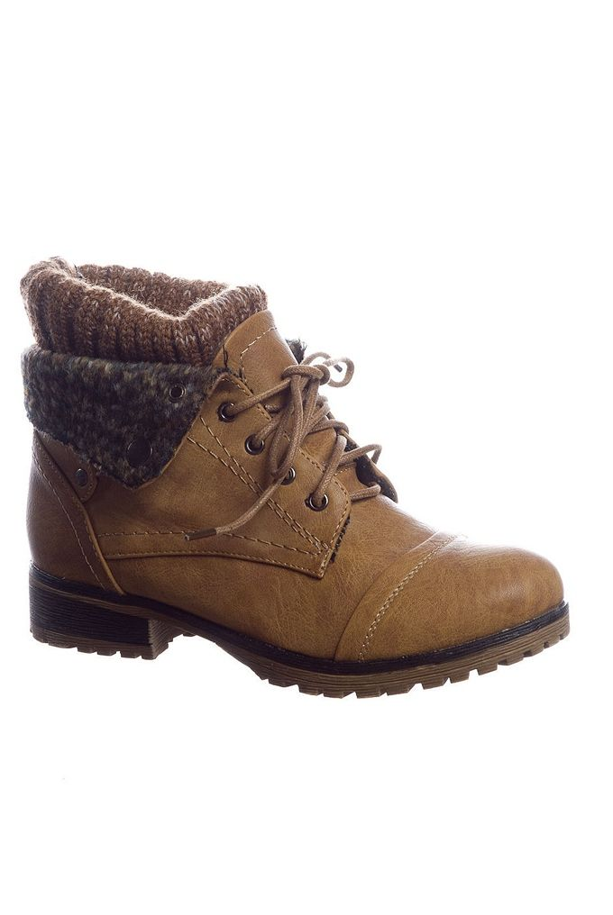 Rugged Bear Winter Shoes Black