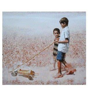 Mirage Painting by Manoj Sakale