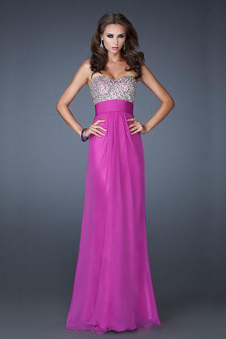 85 best vestidos de fiesta images on Pinterest | Prom dresses, Shawl ...