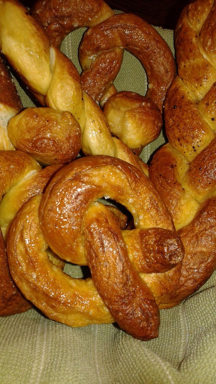 Baked pretzels @ fit2borganized.wordpress.com