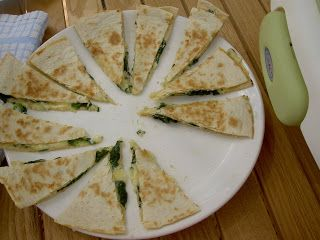 BLW recipes: quesadilla