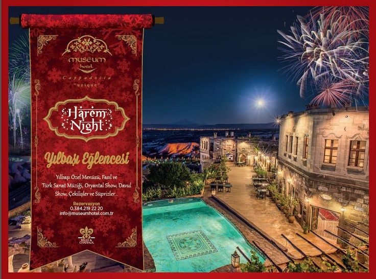 Yeni yıla Kapadokya'nın muhteşem manzarasına hakim olan Museum Hotel'de girmeye ne dersiniz?