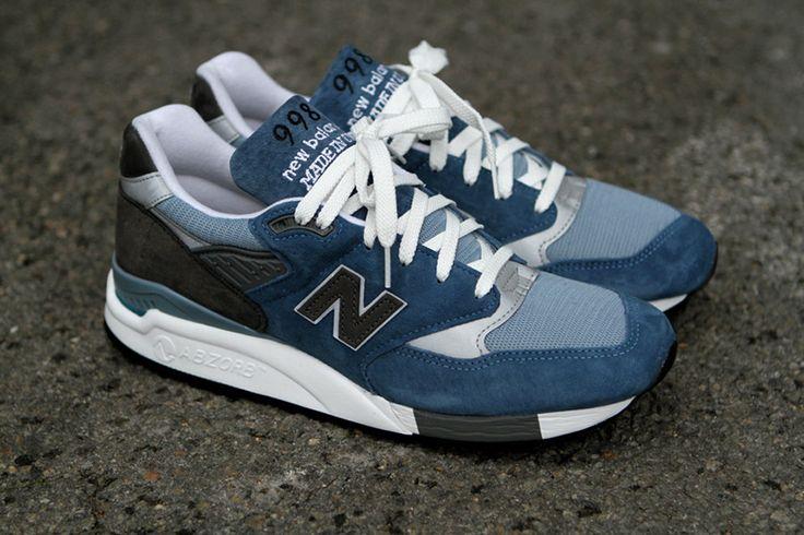 New Balance 998 Blue Denim Spring 2012