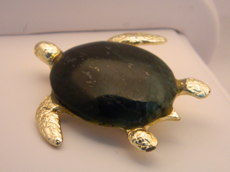 Jade Sea Turtle. $30.00, via Etsy.