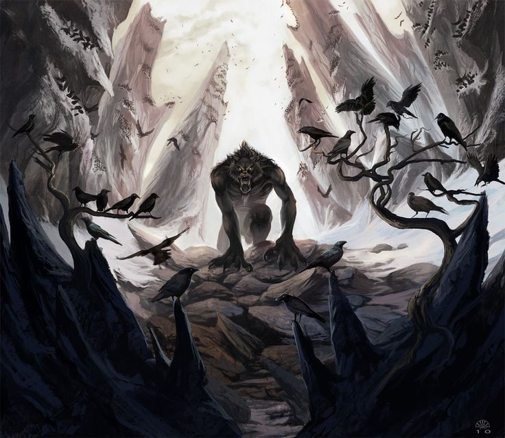 Crow Eater by AlectorFencer on deviantART