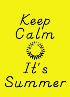 Wolfelicious: Keep Calm Summer Sign- FREEBIE