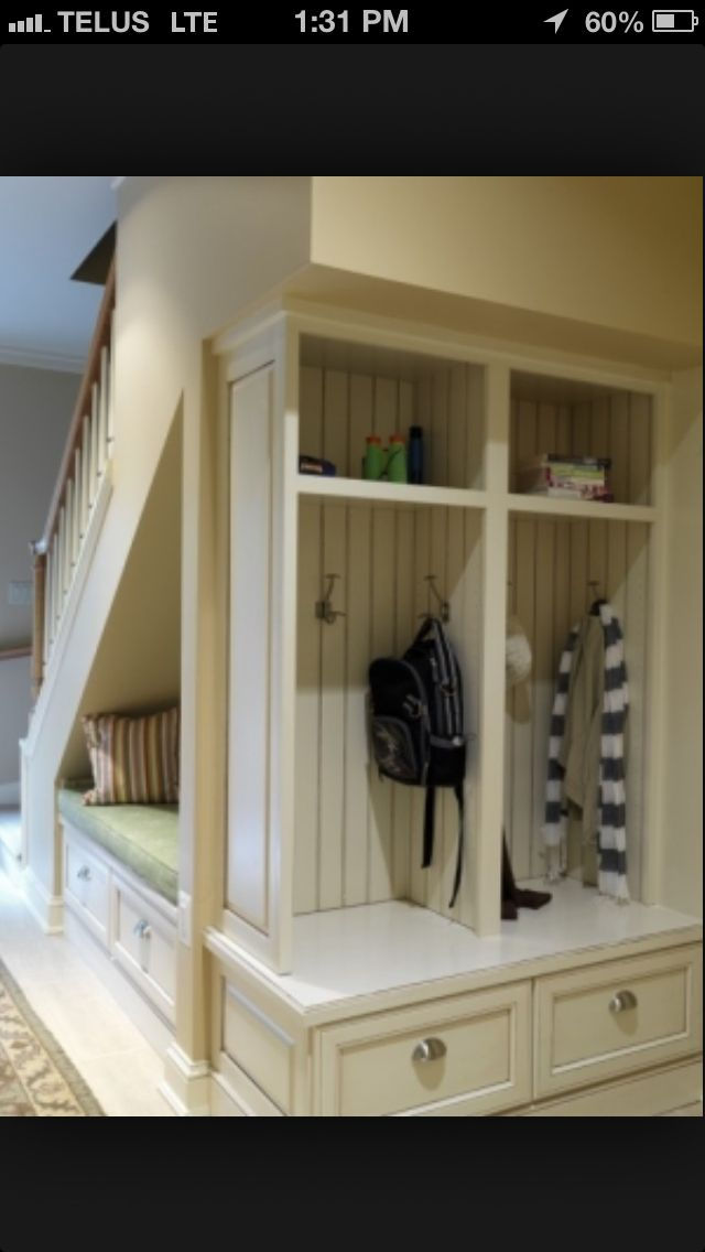 Love under the stair storage