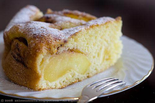Torta di mele affondate da te.La torta di mele più buona in assoluto che abbia mai mangiato