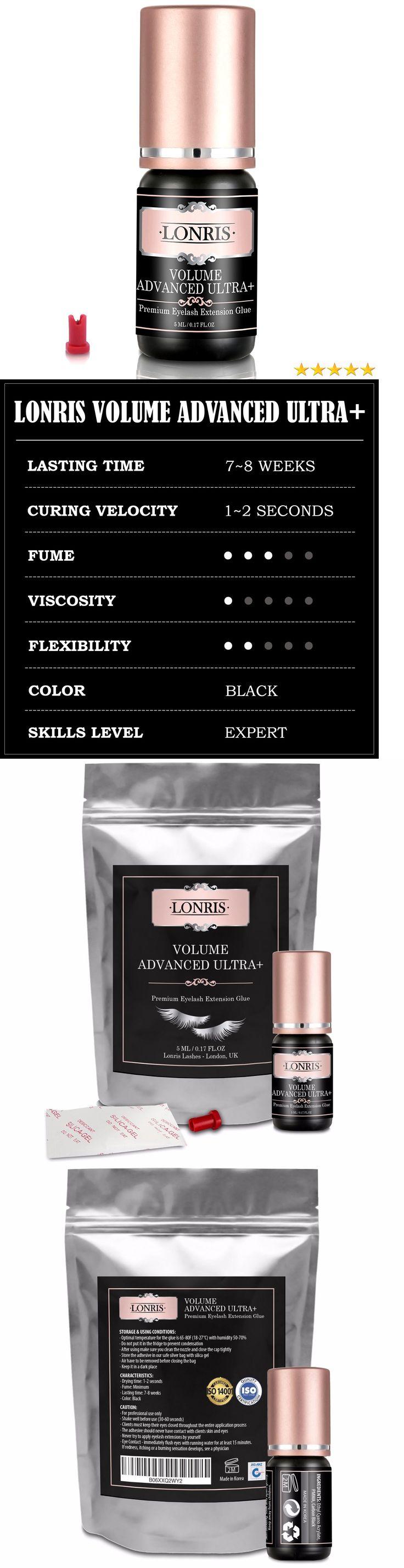 False Eyelashes and Adhesives: Lonris Volume Long Lasting Eyelash Extension Glue Semi Permanent Strong Adhesive -> BUY IT NOW ONLY: $34.98 on eBay!