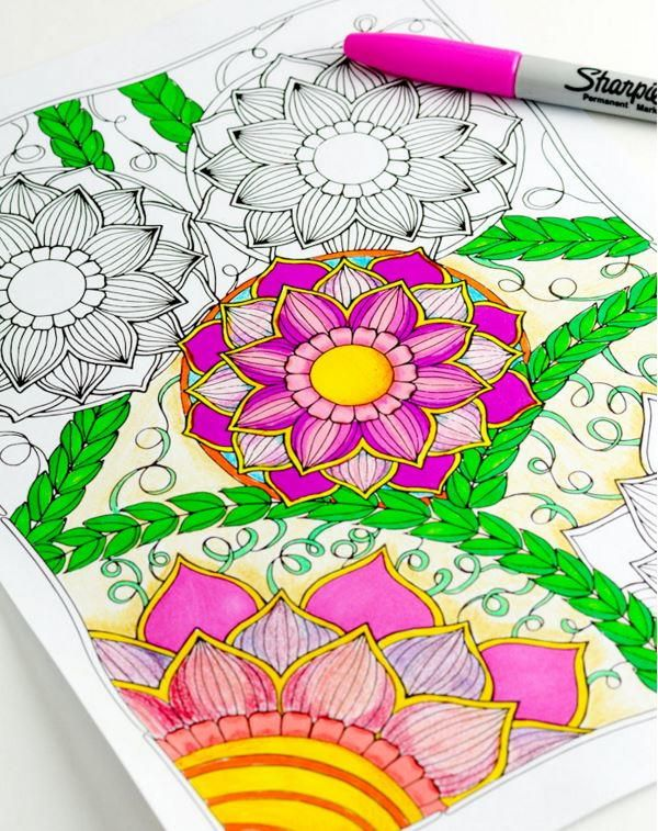 download intricate adult coloring book pages to color with your morning coffee
