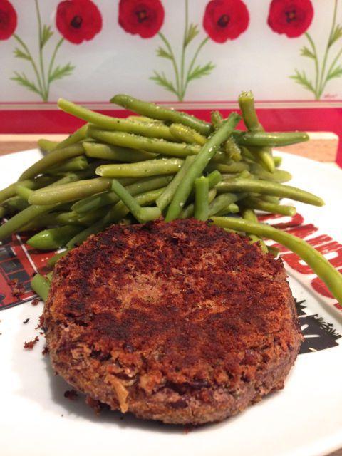Steaks de Haricots rouges - Délicieux et parfait notamment pour un hamburger