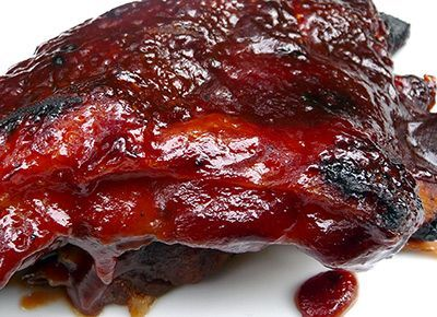 Sweet Baby Ray's Slow-Cooker Ribs Recipe - Made for 4th of July, changed broiler to grill - big hit.