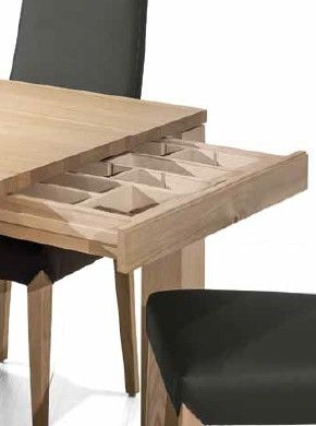 Useful drawer - you could have flatware at your fingertips. Perfect design by Klose.