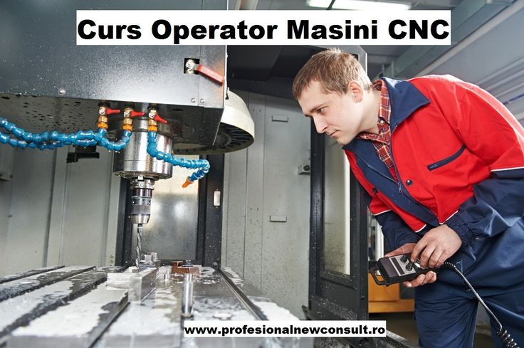CURS OPERATOR MASINI CU COMANDA NUMERICA (CNC) - cursul are o componenta importanta de practica realizata pe urmatoarele utilaje prelucrare metal, mase plastic si cauciuc dar si o componenta teoretica, asigurandu-se suport de curs. mai multe detalii : http://www.profesionalnewconsult.ro/cursuri-autorizate/cursuri-tehnice-meserii/curs-operator-masini-cu-comanda-numerica Cursul este acreditat ANC, recunoscut in Romania si in UE. Relatii la telefoanele 0760.031.178 Elena sau 0784.045.025, Anca