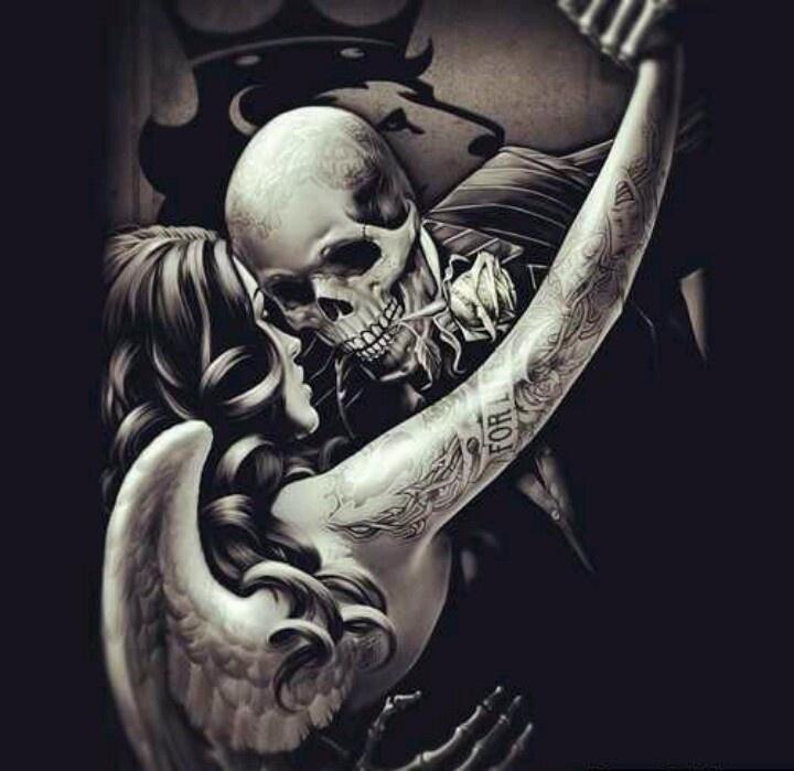 Love...till death do us part!