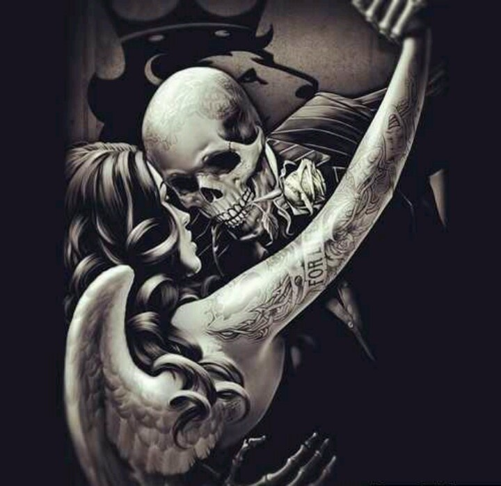Dancing with death... may b?