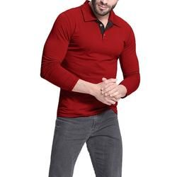 Men's Fashion - New Brand Lapel - Long Sleeve Casual Tops-Men's Long Sleeve Tops-www.1MinuteDeals.co.nz