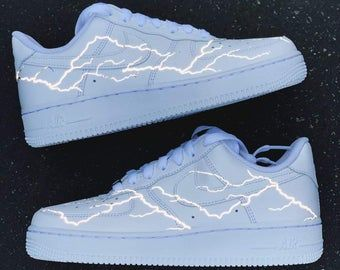 Air force 1 custom | Etsy | Hype shoes, Reflective shoes, Shoes ...