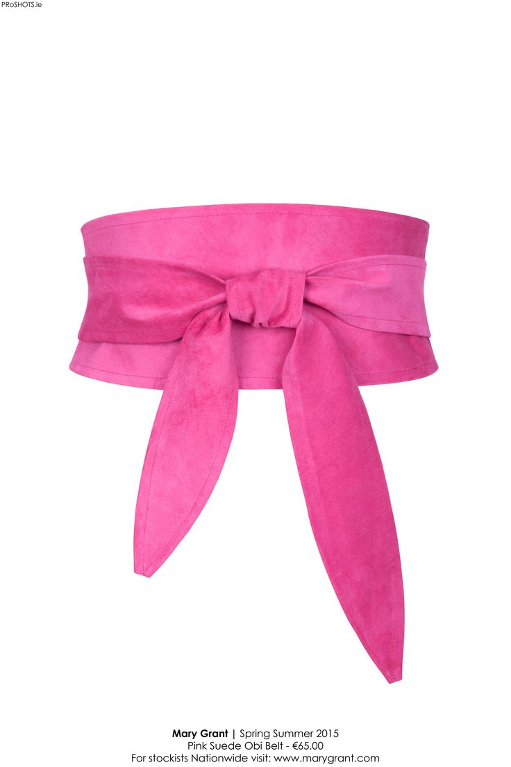 Hot pink suede obi....great for a pop of colour on a black dress, or to dress up an outfit for a special occasion