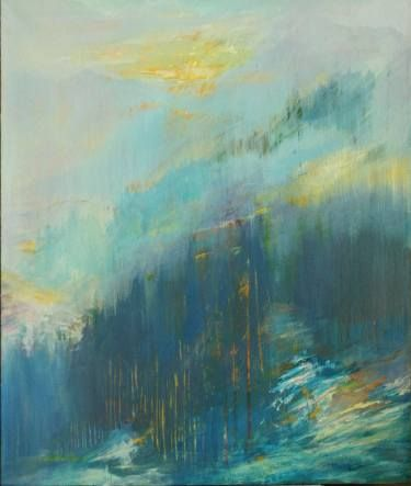 "Saatchi Art Artist Nickolas Kocherzhuk; Painting, """"horizon winters"""" #art"