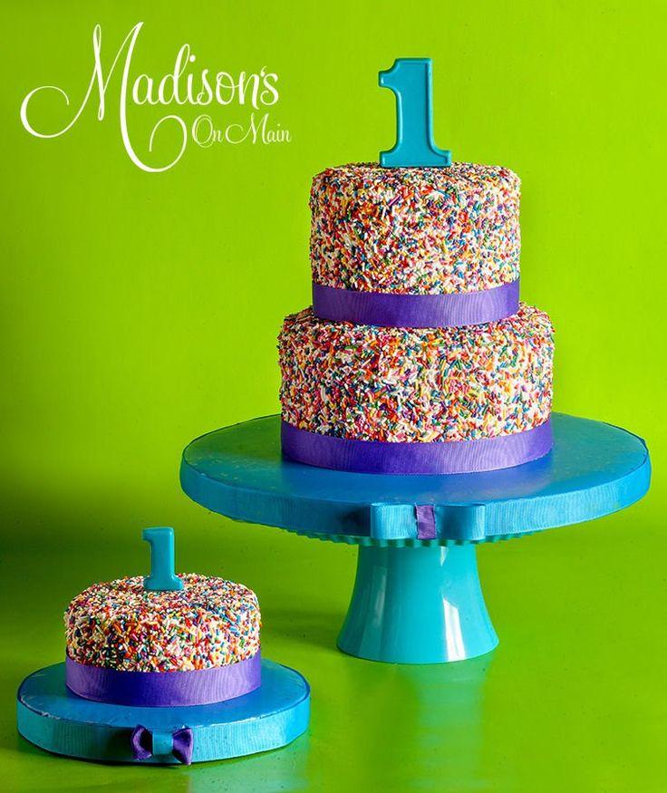 boy birthday cakes   … Sprinkles First Birthday cake….. — Childrens Birthday Cakes