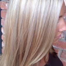 Platinum Blonde Hair With Butterscotch Lowlights Platinum