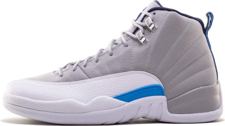 8efd88440950 Air Jordan 12 Retro Wolf Grey University Blue  UNC  in 2019 ...