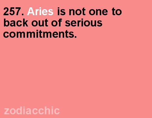 Aries horoscopes march