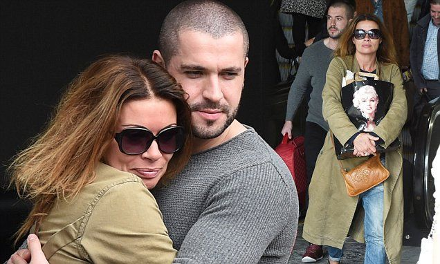 Corrie's Alison King and Shayne Ward share a warm embrace at station