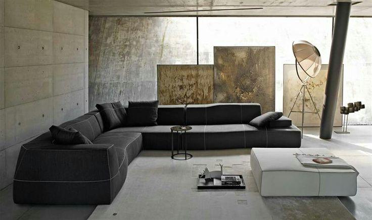 B&B Italia bend sofa