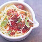 Spaghetti met verse tomaat en rucola van Jamie Oliver - recept - okoko recepten