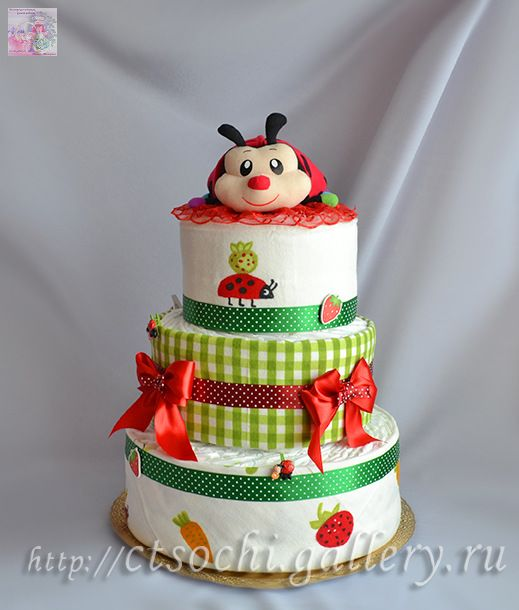 Gallery.ru / Фото #1 - Букеты и торты для малышей - CTSochi