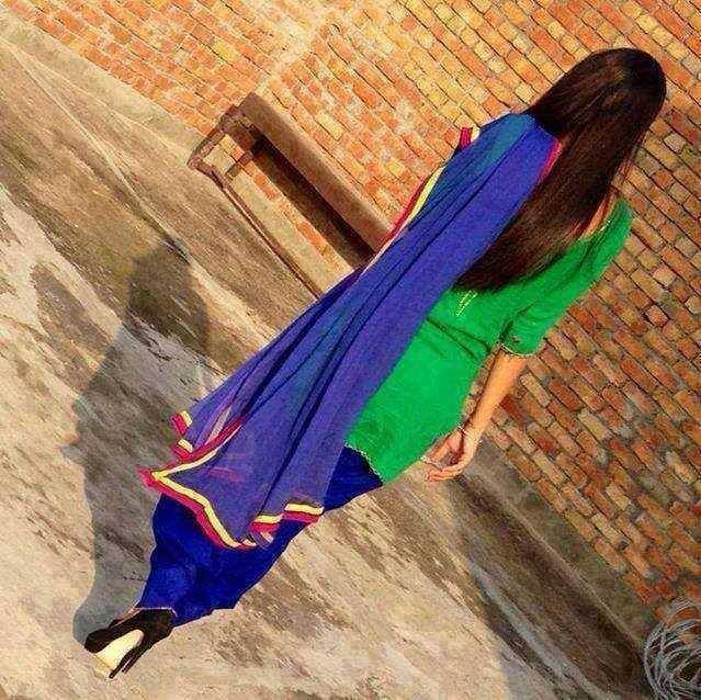 Punjabi Suit With High Heels Can Give U A Better Look So
