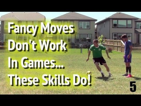 12 Soccer Drills For Effective (NOT FANCY) Soccer Skills And Soccer Moves - YouTube