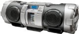 JVC RV-NB70S Powered iPod/iPhone Dock Woofer Speaker System with connection for MP3/Mic/CD and Guitar – Silver: fitness instructor microphone