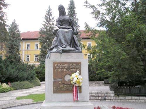 Slowakei Stadt Bardejovske Kupele-Spa