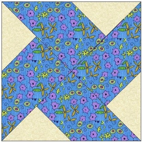 Quilting Designs For Water : 10+ images about Paper Pieced Quilt Block Patterns on ...