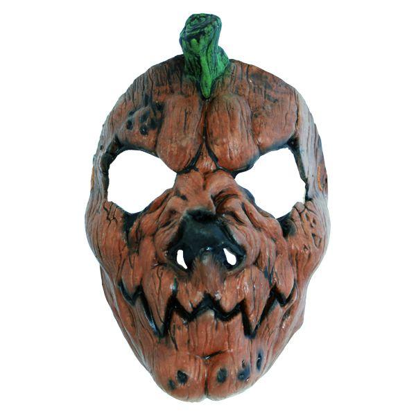 Skummel gresskarmaske - Skumle halloween masker