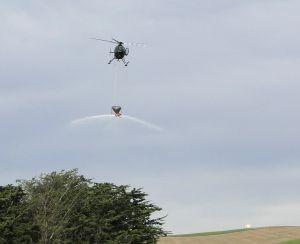Helicopter Underslung Bucket / Fertilizer Bucket / Spreader Bucket