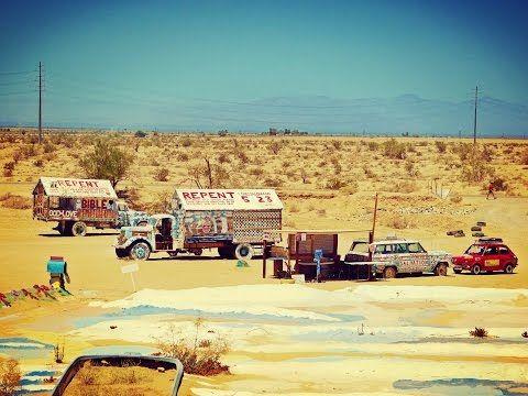 Maluchem dookoła #USA część 11: #Tucson i #SalvationMountain #maluch #fiat126p