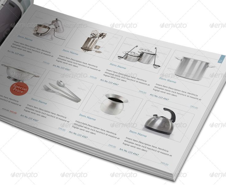 Multipurpose Product Catalogue - 40 Pages