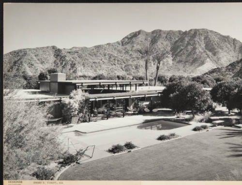 fickett-janss-001~1 :: Photograph, William Janss Residence, 1961 :: Edward H. Fickett, FAIA, Collection. http://digitallibrary.usc.edu/cdm/ref/collection/p15799coll25/id/148