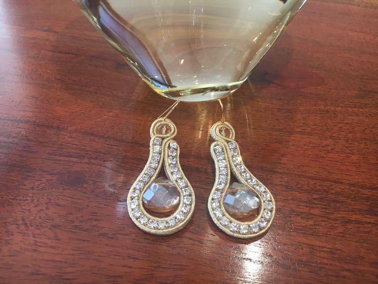 Soutache earrings by Ravilya